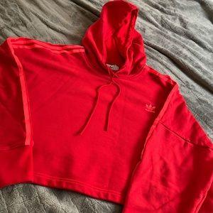 Women's Adidas Adicolor Cropped Hoodie